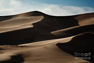 Remoteness Photograph - Great Sand Dunes by Keith Kapple