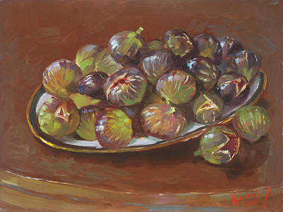 Greek Painting - Greek Figs by Ylli Haruni