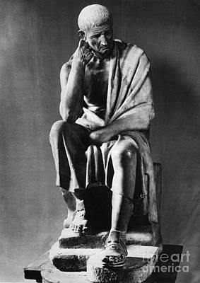 Greek Philosopher Print by Photo Researchers