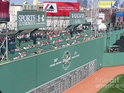 Green Monster Print by Kevin Fortier
