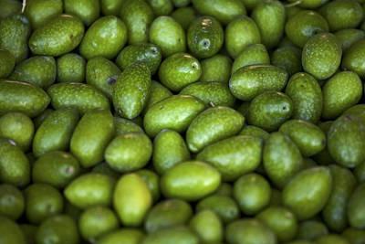 Green Olives Print by Joana Kruse
