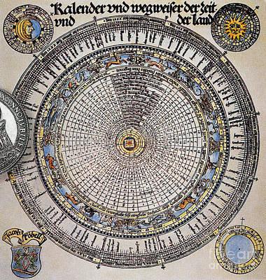 Gregorian Calendar Print by Science Source