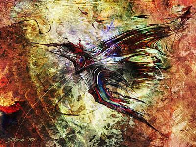 Griffon Digital Art - Griffon by Stefano Popovski