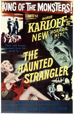 Grip Of The Strangler, Aka The Haunted Print by Everett