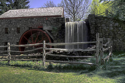 Photograph - Grist Mill by Stephen EIS