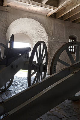 Blacksmiths Photograph - Ground Floor Cannons by Peter Chilelli