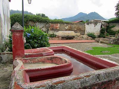 Elizabeth Rose Photograph - Guatemalan Laundry In Antigua by Elizabeth Rose