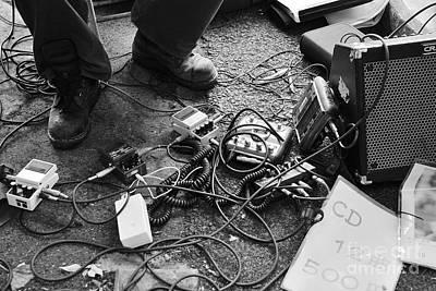 Guitar Photograph - Guitar Man by Dean Harte