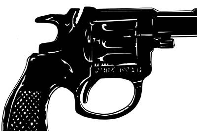 Mystery Drawing - Gun Number 3 by Giuseppe Cristiano