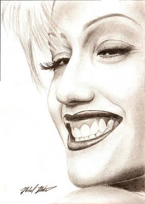 Doubting Mixed Media - Gwen Stefani by Michael Mestas