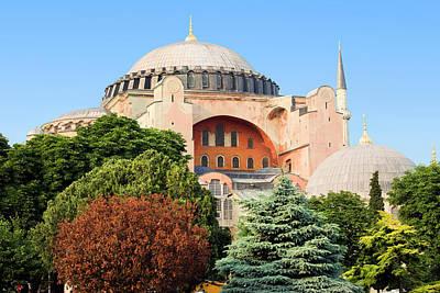 Hagia Sophia Print by Artur Bogacki