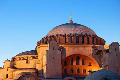 Hagia Sophia In Istanbul Print by Artur Bogacki