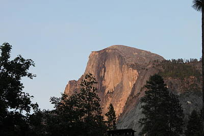 Half Dome Yosemite National Park Print by Remegio Onia