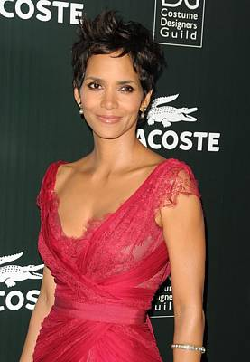 Beverly Hilton Hotel Photograph - Halle Berry At Arrivals For 13th Annual by Everett