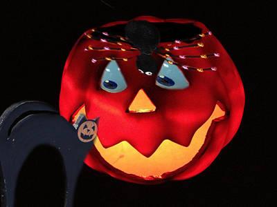 Haunted House Party Mixed Media - Halloween Fun Art by Debra     Vatalaro