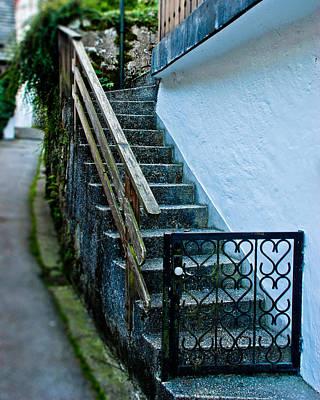Hallstatt Photograph - Hallstatt Stairs by David Waldo