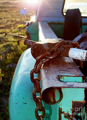 Truck Photograph - Hammer Chain And Truck by Wesley Hahn