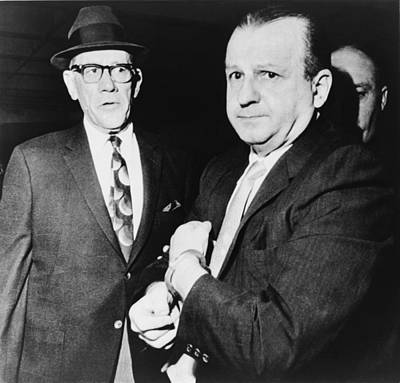 Handcuffed Jack Ruby, Killer Of Jfk Print by Everett