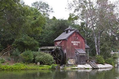 Disney Photograph - Hapers Mill by Nicholas Evans