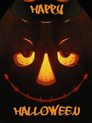 Jack-o-lantern Digital Art - Happy Halloween by Tim Allen