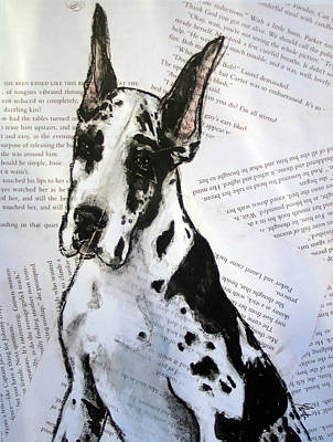 Harlequin Romance Puppy Original by Christas Designs