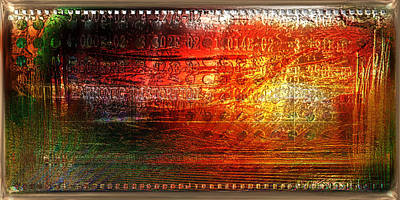 Collectible Mixed Media - Harmonic Distortion by Li   van Saathoff