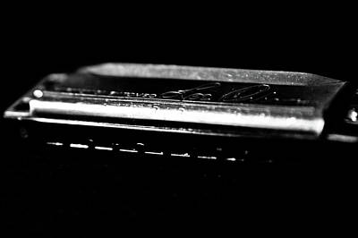 Harmonica Photograph - Harmonica One by Sam Hymas