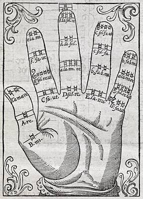 Harmonious Hand, 17th Century Artwork Print by Middle Temple Library