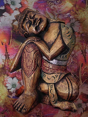 Buddhism Photograph - Harmony In Silence by Joachim G Pinkawa