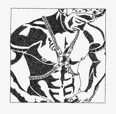 Harnessed In Chains Print by John Stofka