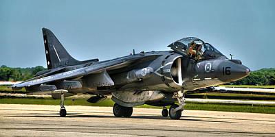 Av-8b Photograph - Harrier by Mitch Cat