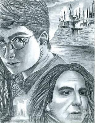 Harry Potter Print by Crystal Rosene