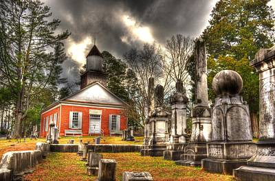 North Carolina Mountains Photograph - Harshaw Chapel by Greg and Chrystal Mimbs