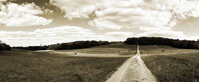 Harvest Clouds Original by Jan W Faul