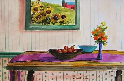 Harvest Table Print by John  Williams