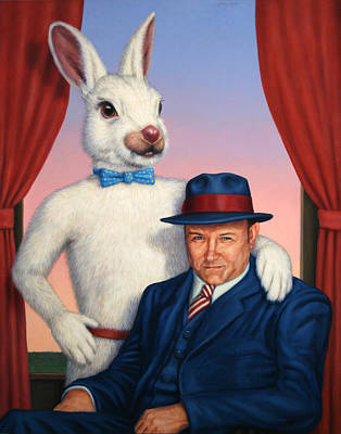 Theatre Painting - Harvey And Randall by James W Johnson