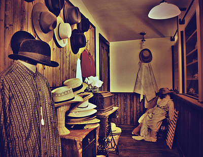 Hat Room Print by JC Photography and Art