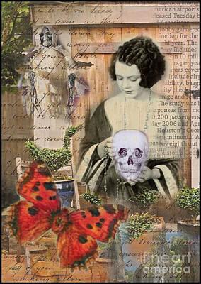 Haunted Garden Print by Ruby Cross