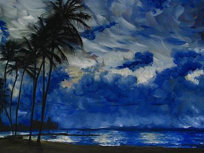 Hawaiian Sunrise Print by Sherry Robinson