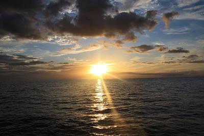 Hawaiian Sunset 2 Print by Brandon Radford