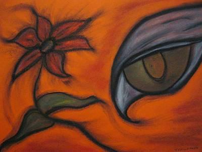 Hawk Eye Enchantment Print by Tracy Fallstrom