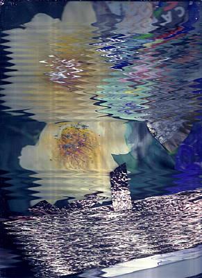 Hazy Reflections Print by Anne-Elizabeth Whiteway