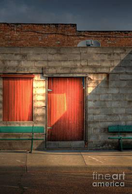 Window Bench Photograph - Hdtv by Fred Lassmann