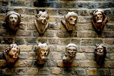 A.v. G Photograph - Head Wall by Jez C Self