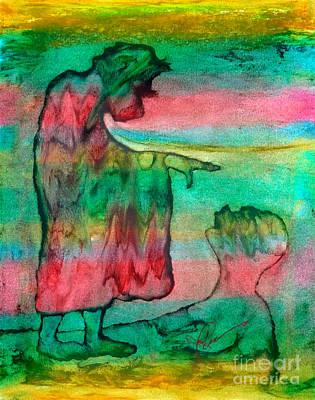 Blue Healer Painting - Healer by Linda May Jones
