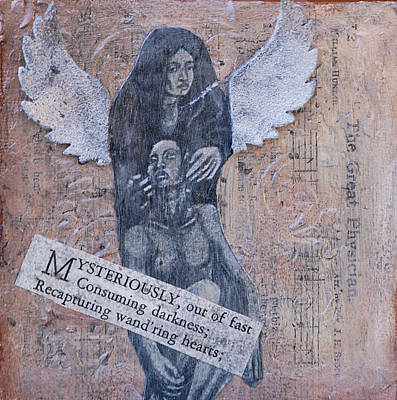 Old Sheet Music Mixed Media - Healing by Kent Mullens