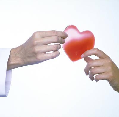 Heart Healthy Photograph - Healthy Heart, Conceptual Image by Cristina Pedrazzini