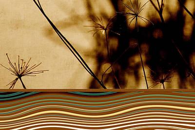 Heat Waves Print by Bonnie Bruno