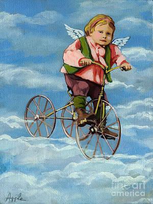 Painting - Heavenly Flight by Linda Apple