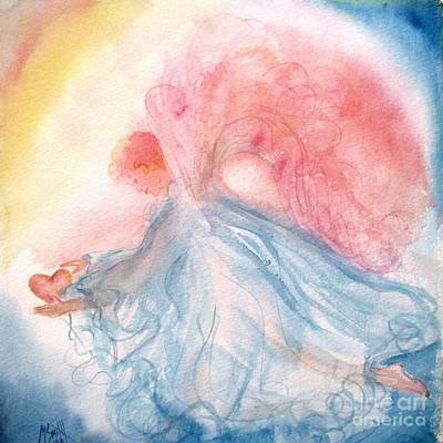Heavenly Angels Painting - Heavenly Love by Marilyn Smith